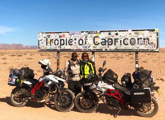 رحلتهما في صحراء تشيلي