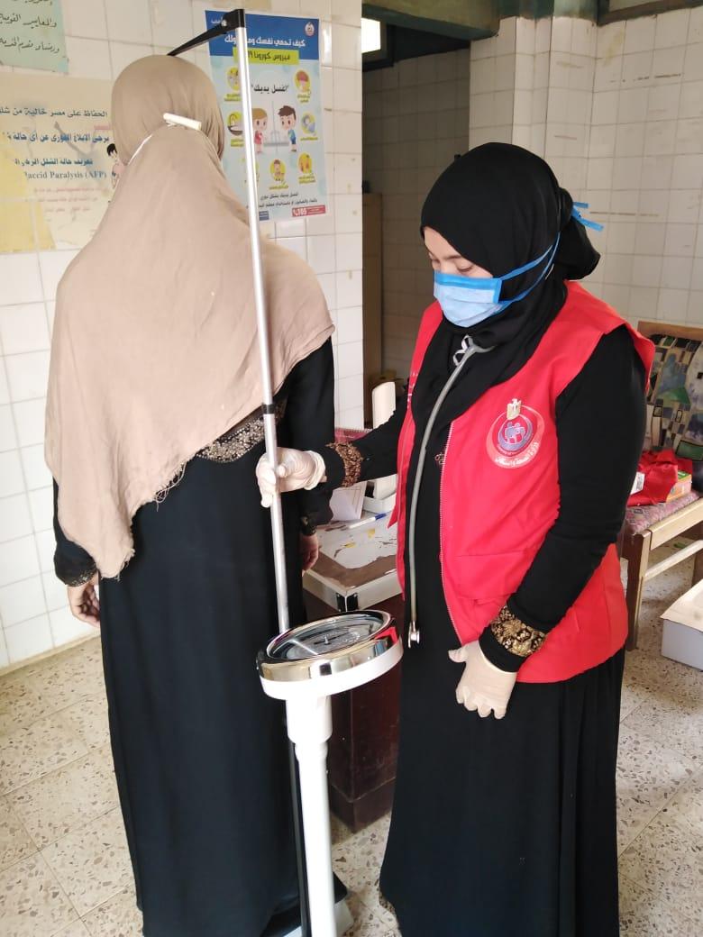 1.3 مليون سيدة بالشرقية يستفيدن من مبادرة دعم صحة المرأة (3)