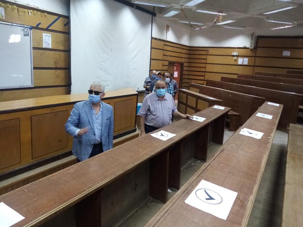 إستعدادات جامعة طنطا للعام الدراسى الجديد (3)