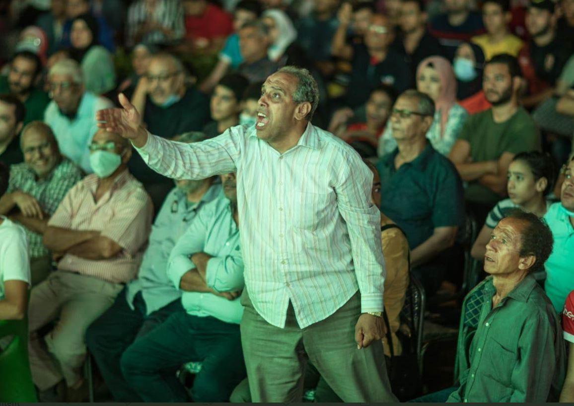 حماس المشجعين