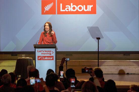 رئيسة وزراء نيوزيلندا أرديرن تعلن فوزها في الانتخابات