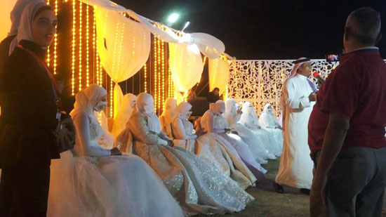 حفل زفاف جماعى (7)