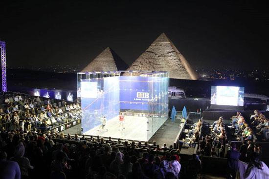 تسليم جوائز بطولة مصر الدولية للإسكواش (13)