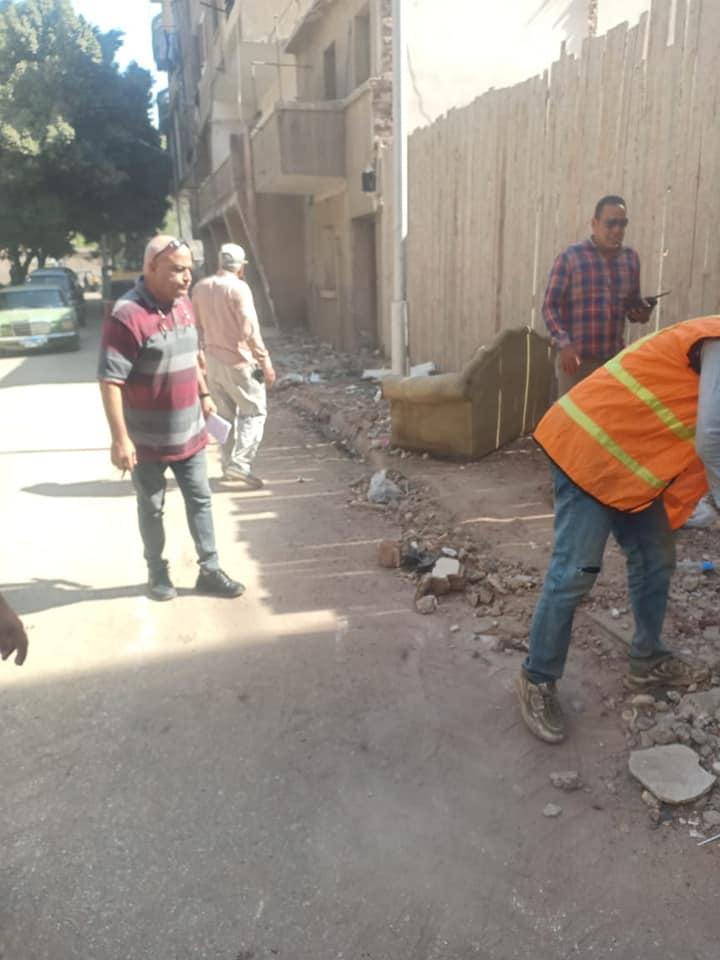 حملات نظافة بمحيط المدارس بالجيزة  (5)