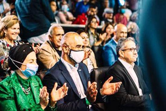 تسليم جوائز بطولة مصر الدولية للإسكواش (5)