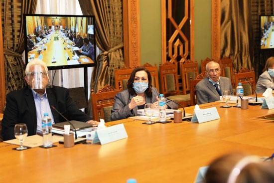 سامح شكرى وزير الخارجية ورئيس اللجنة العليا الدائمة لحقوق الإنسان (15)