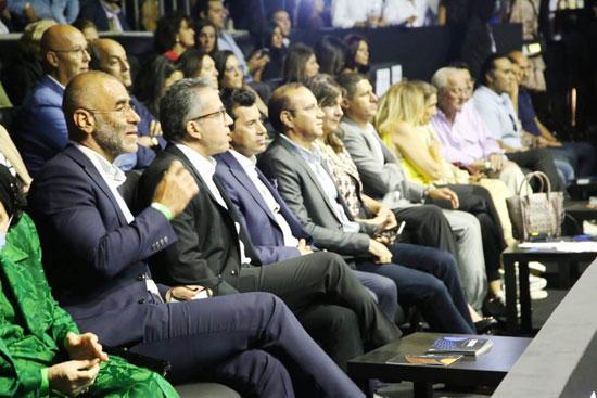 تسليم جوائز بطولة مصر الدولية للإسكواش (12)