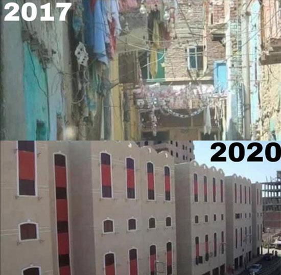 عشش محفوظ ومدينة العمال في محافظة المنيا