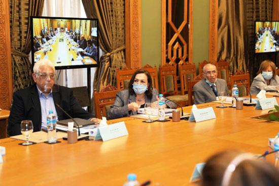 سامح شكرى وزير الخارجية ورئيس اللجنة العليا الدائمة لحقوق الإنسان (16)