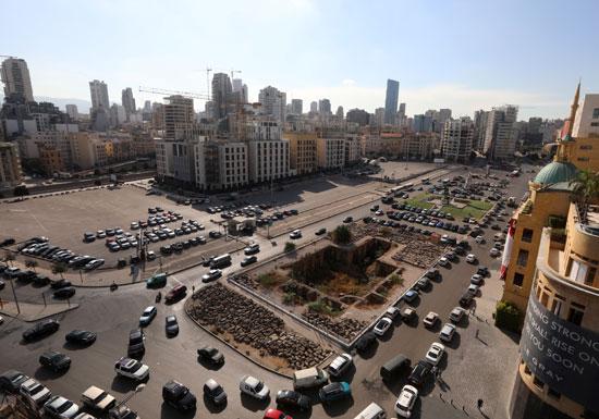 ساحة الشهداء وسط بيروت