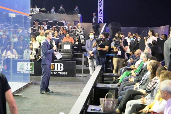 تسليم جوائز بطولة مصر الدولية للإسكواش (14)