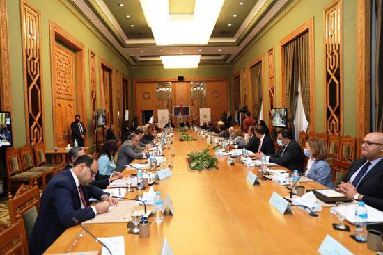 سامح شكرى وزير الخارجية ورئيس اللجنة العليا الدائمة لحقوق الإنسان (9)