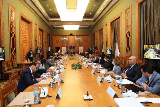 سامح شكرى وزير الخارجية ورئيس اللجنة العليا الدائمة لحقوق الإنسان (12)