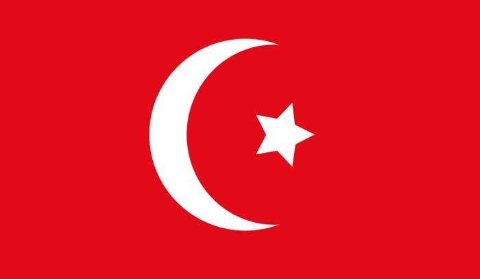 لون علم مصر العثمانى