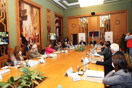 سامح شكرى وزير الخارجية ورئيس اللجنة العليا الدائمة لحقوق الإنسان (8)