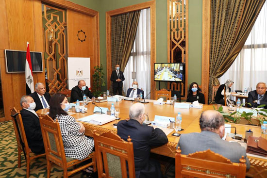 سامح شكرى وزير الخارجية ورئيس اللجنة العليا الدائمة لحقوق الإنسان (14)