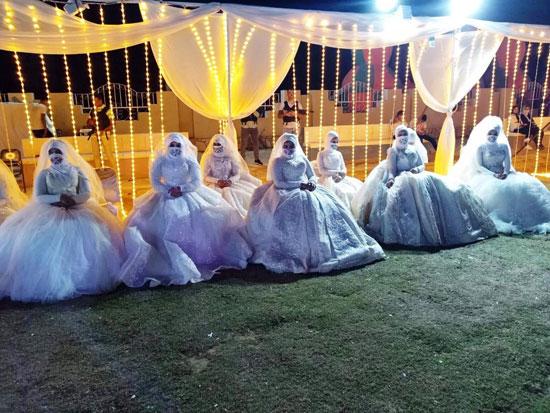 حفل زفاف جماعى (5)