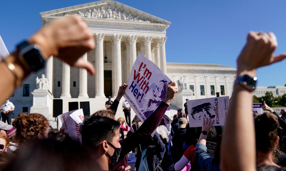 مظاهرات أمام المحكمة العليا الأمريكية (3)