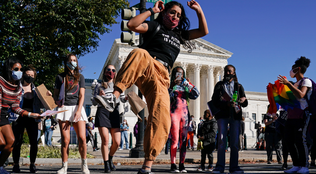 مظاهرات أمام المحكمة العليا الأمريكية (4)