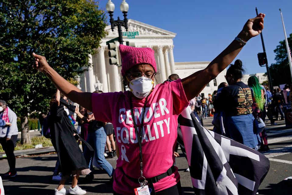 مظاهرات أمام المحكمة العليا الأمريكية (2)