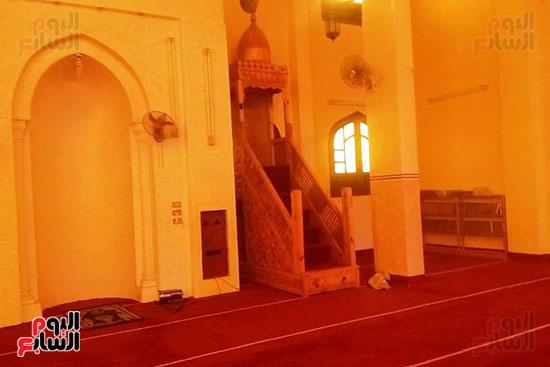 اليوم السابع داخل مسجد الإمام المتوفى قبل صعوده المنبر (1)