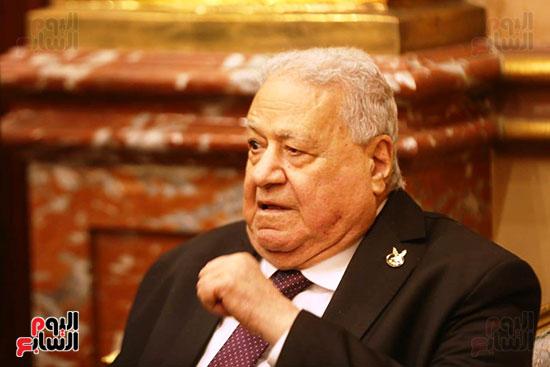 جلال هريدي رئيس الجلسة الافتتاحية للشيوخ (2)