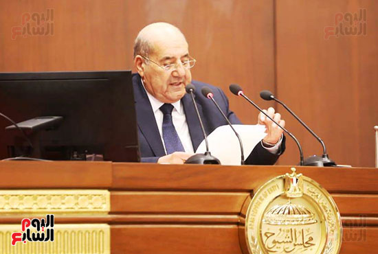 المستشار عبد الوهاب عبد الرازق رئيس مجلس الشيوخ