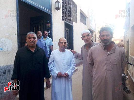 اليوم السابع داخل مسجد الإمام المتوفى قبل صعوده المنبر (9)