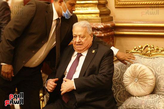 جلال هريدي رئيس الجلسة الافتتاحية للشيوخ (1)