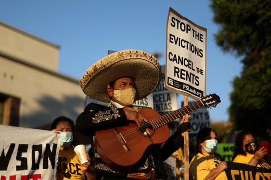 احتجاج فى امريكا