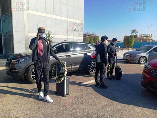 بعثة الأهلى تصل القاهرة قادمة من المغرب (1)