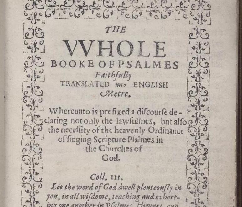 كتاب مزمور التاريخ