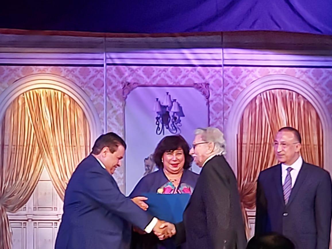 وزيرة الثقافة تفتتح مسرح ليسيه الحرية بالإسكندرية (4)