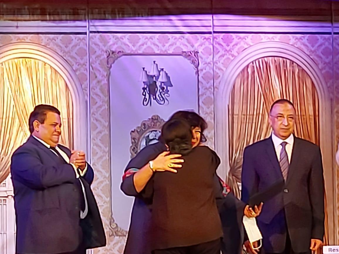 وزيرة الثقافة تفتتح مسرح ليسيه الحرية بالإسكندرية (6)