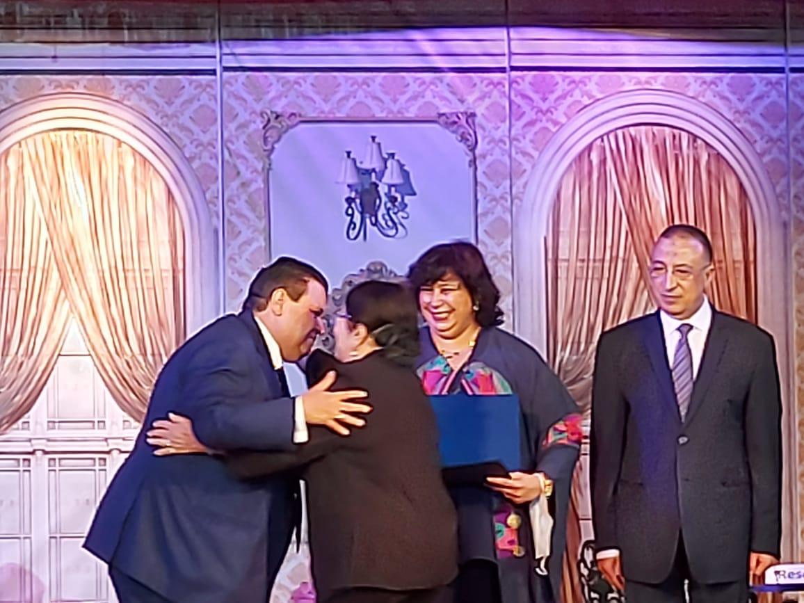 وزيرة الثقافة تفتتح مسرح ليسيه الحرية بالإسكندرية (18)