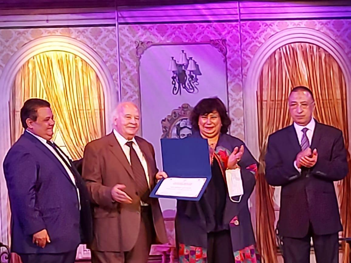 وزيرة الثقافة تفتتح مسرح ليسيه الحرية بالإسكندرية (7)