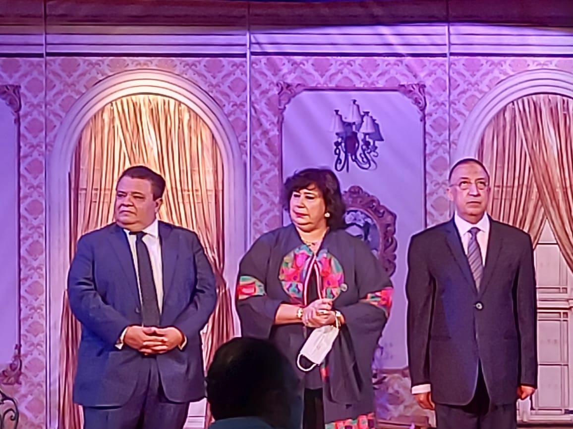 وزيرة الثقافة تفتتح مسرح ليسيه الحرية بالإسكندرية (12)