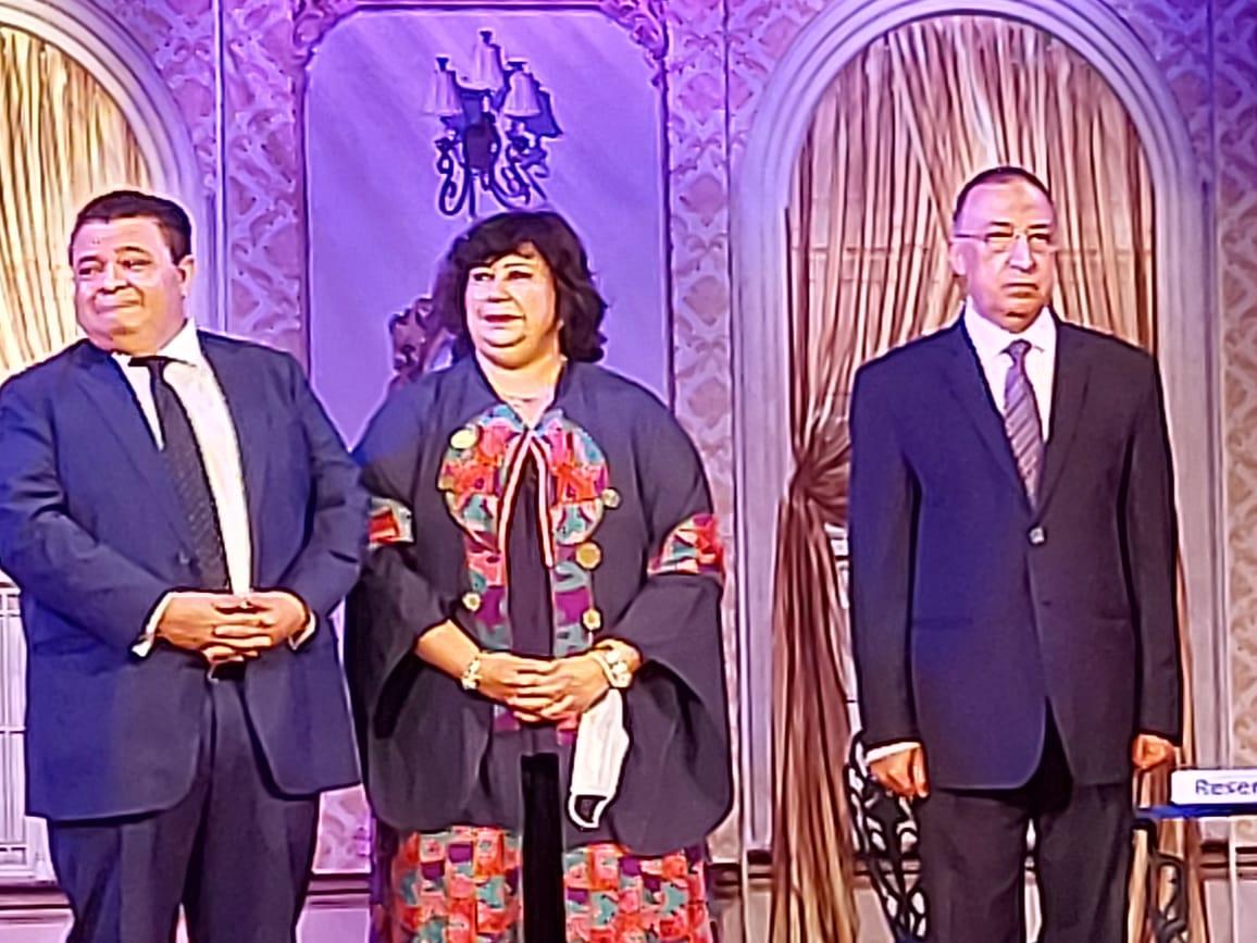 وزيرة الثقافة تفتتح مسرح ليسيه الحرية بالإسكندرية (14)