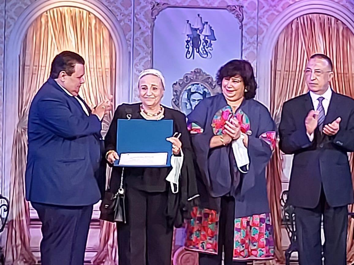 وزيرة الثقافة تفتتح مسرح ليسيه الحرية بالإسكندرية (22)