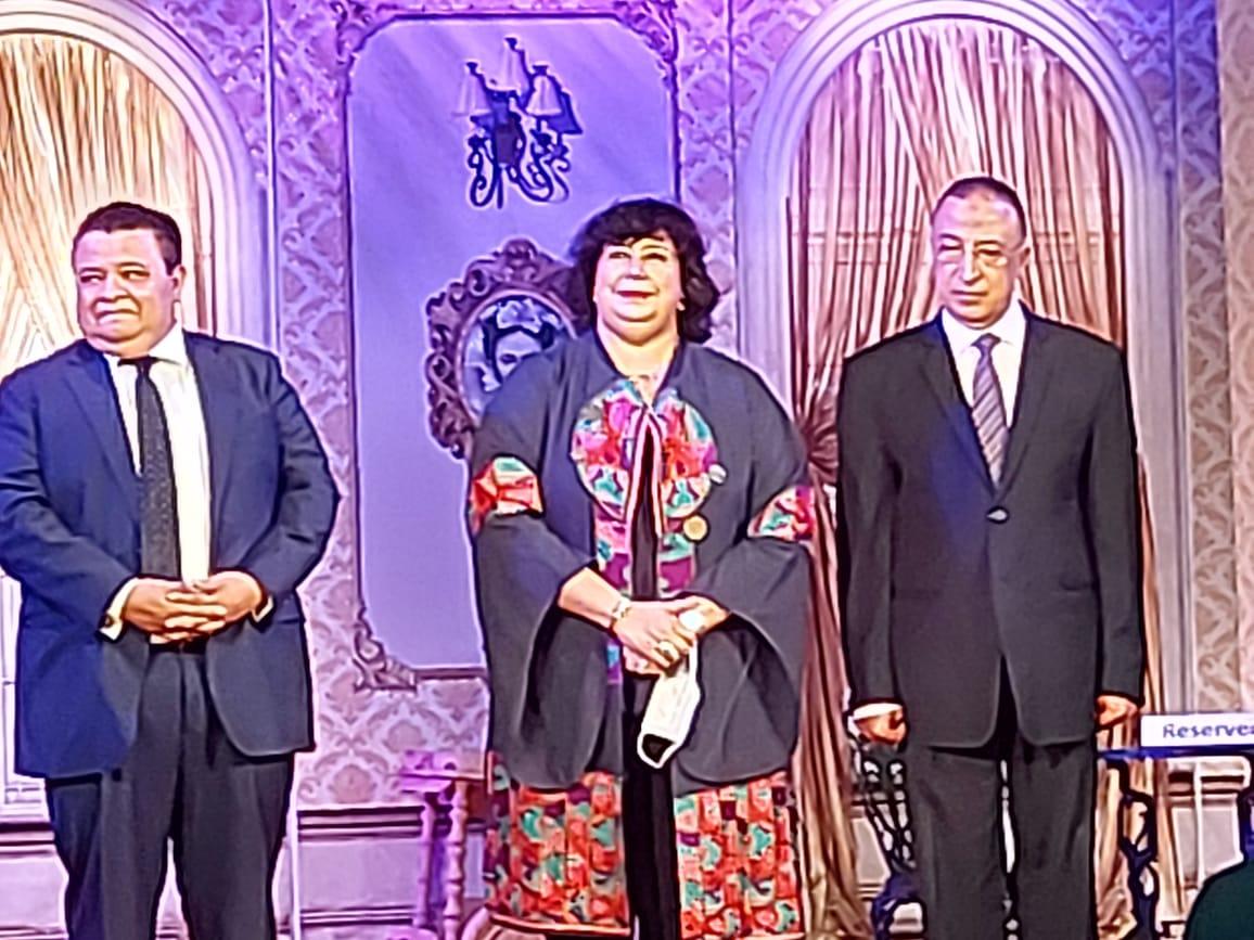 وزيرة الثقافة تفتتح مسرح ليسيه الحرية بالإسكندرية (13)