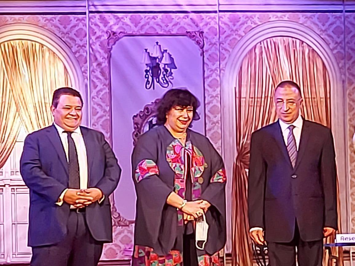 وزيرة الثقافة تفتتح مسرح ليسيه الحرية بالإسكندرية (10)