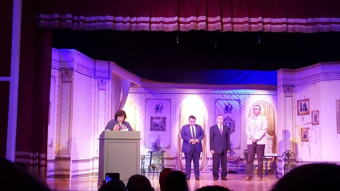 وزيرة الثقافة تفتتح مسرح ليسيه الحرية بالإسكندرية (8)