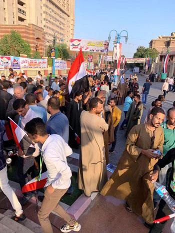 احتفالية حاشدة بذكر نصر أكتوبر ودعم الدولة والرئيس فى أسيوط (3)