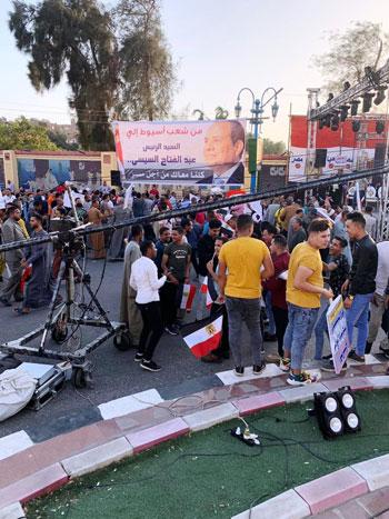 احتفالية حاشدة بذكر نصر أكتوبر ودعم الدولة والرئيس فى أسيوط (1)