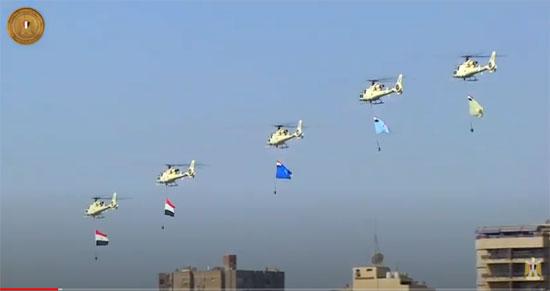 المروحيات-تعمل-أعلام-القوات-المسلحة