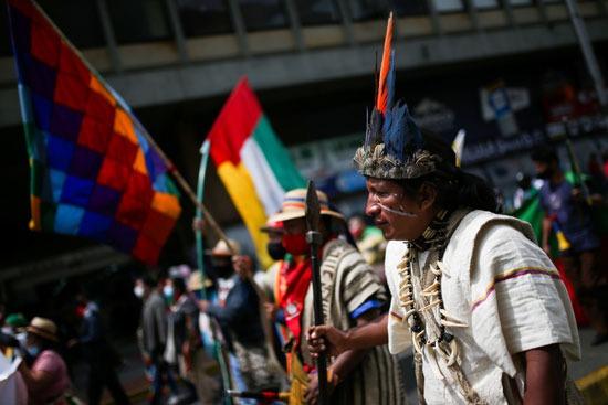احتجاجات السكان الأصليين فى كولومبيا (10)
