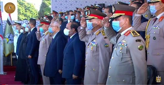الرئيس-السيسى-خلال-احتفاليات-الكليات-العسكرية