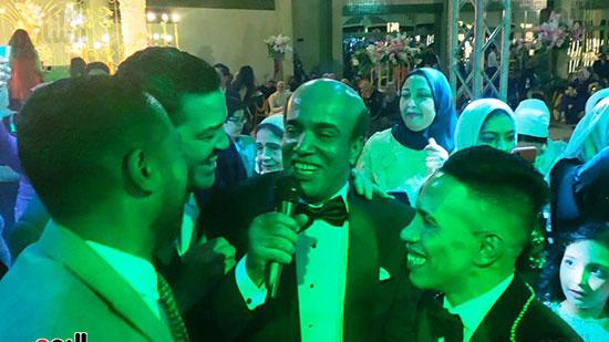 يحتفل الفنان  سليمان  عيد بعقد قران وزفاف نجلته سلمى (6)