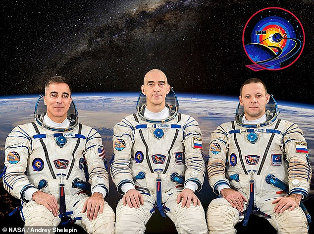 رواد محطة الفضاء