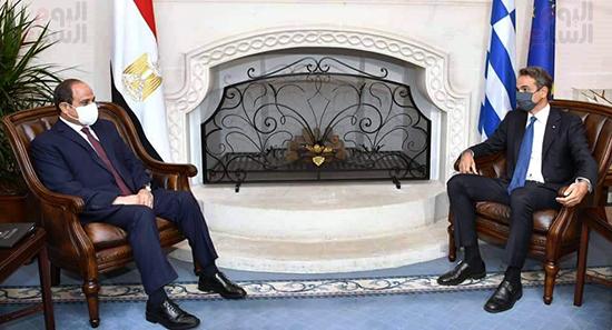 الرئيس السيسى فى قبرص واليونان (4)